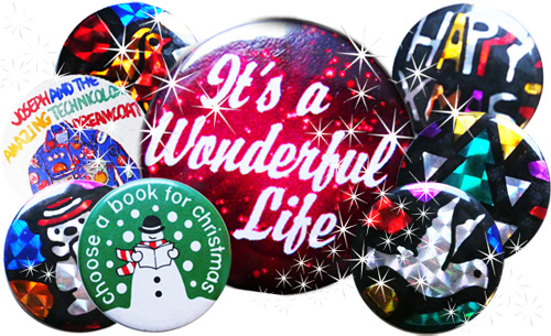 Christmas day badges