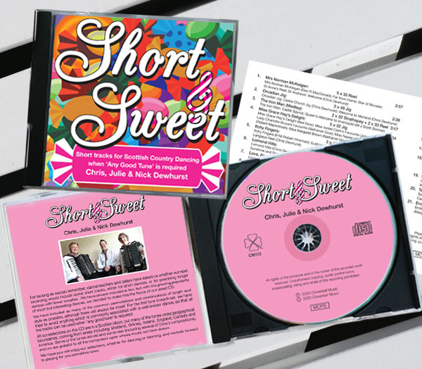Short and Sweet cd