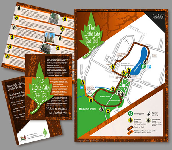 Little City Tree Trail first leaflet | workspace
