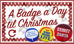 link to a badge collector's advent calendar